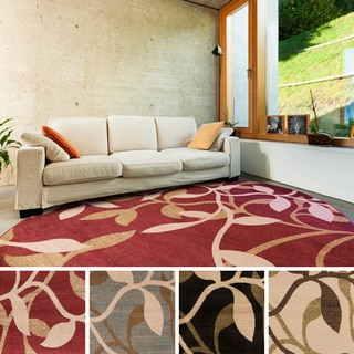 Meticulously Woven Winder Floral Rug (8' Round)