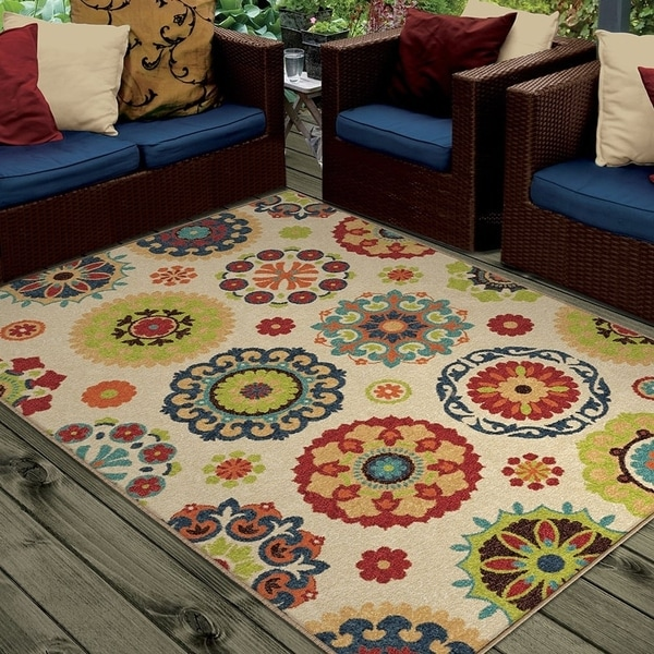 Shop Clay Alder Home Hemlock Indoor Outdoor Multi Area Rug 7 8 X