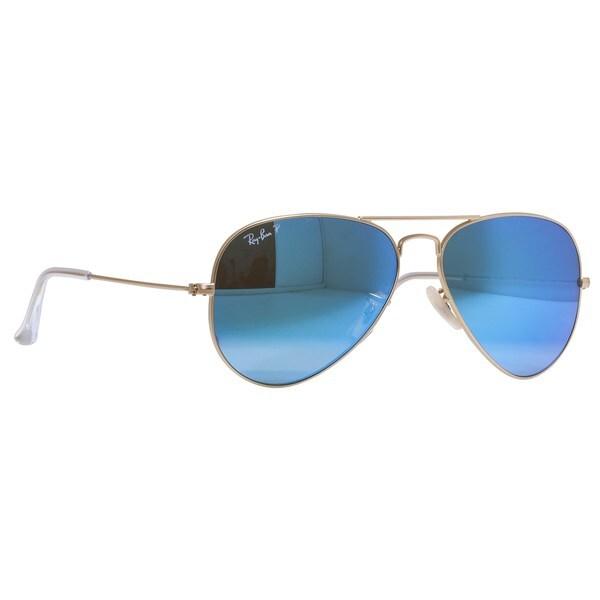 ray ban aviator blue polarized