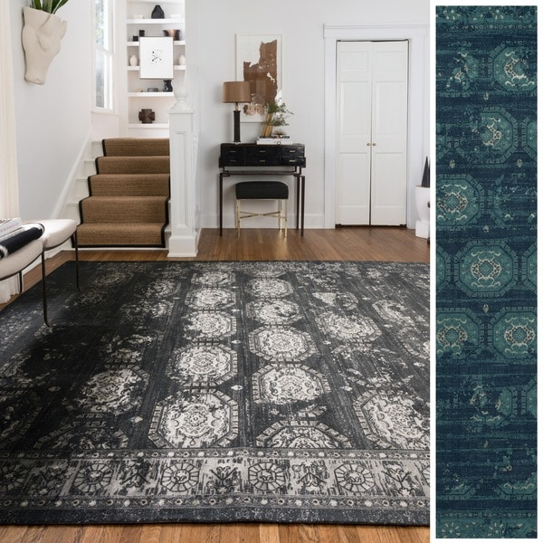 Emerson Medallion Tile Rug (5'0 x 7'6) - 5' x 7'6