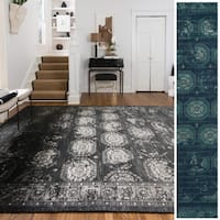 Emerson Medallion Tile Rug (9'2 x 12'2) - 9'2 x 12'2