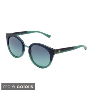 Tory Burch Women's 'TY7062' Round Sunglasses