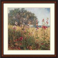 Framed Art Print 'Favorite Places' by Phyllis Horne 30 x 30-inch