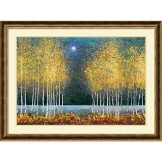 Framed Art Print 'Blue Moon' by Melissa Graves-Brown 44 x 33-inch