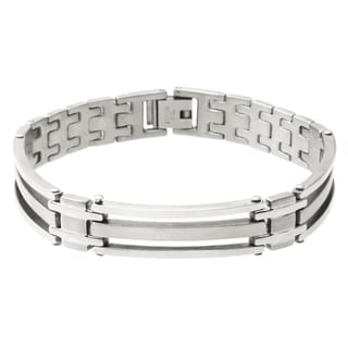Vance Co. Men's Stainless Steel Bracelet