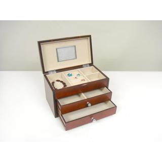 Genoa Dark Cherry Jewelry Box