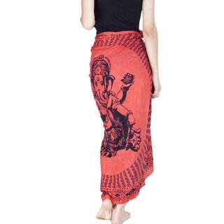 Om Ganesh Women's Sarong (Indonesia)