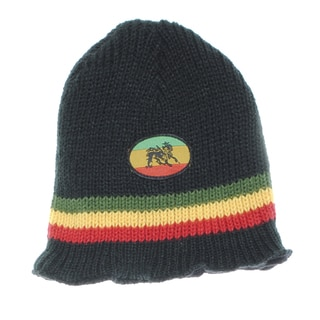 Unisex Hand-knit Rasta Reggae Beanie (Nepal)