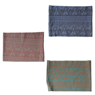Organic Cotton Tribal Printed Fleece-lined Headband (Nepal)