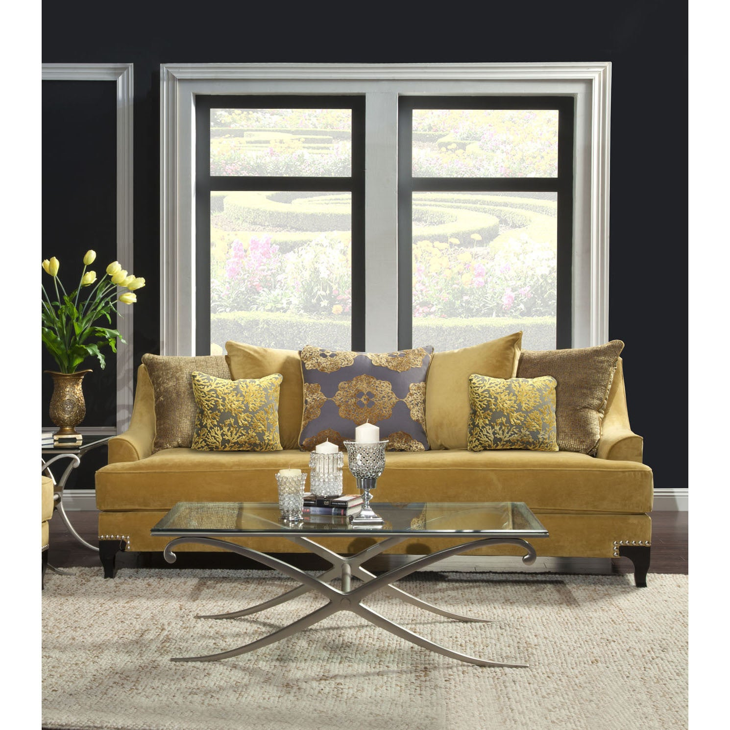 Silver Sofas Couches & Loveseats For Less