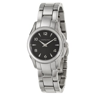 Hamilton Women's 'Jazzmaster Lady' Stainless Steel Swiss Quartz Watch