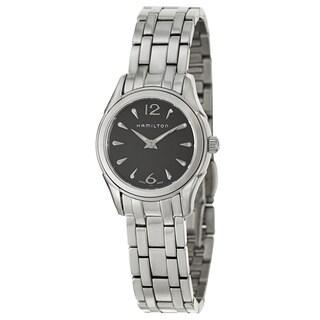 Hamilton Women's 'Jazzmaster Lady' Stainless Steel Swiss Quartz Watch