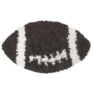 Shaggy Raggy Football Rug (3' x 3')