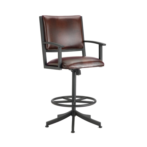 Executive Tilt Swivel Counter Stool with Arms Free  : Executive Tilt Swivel Counter Stool W Arms a06d27ac 787f 4880 abe0 47f11bcf9ab7600 from www.overstock.com size 600 x 600 jpeg 13kB
