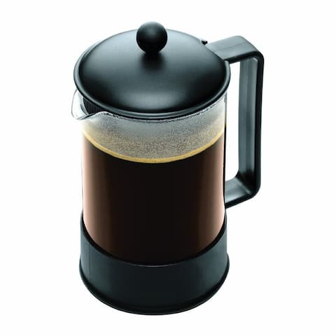 Bodum BRAZIL French Press Coffee Maker, 1.5 Liter, 51oz, 12 Cup, Black
