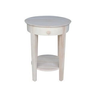 Solid Parawood Philips Accent Table