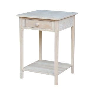The Gray Barn Moonshine Unfinished Bedside Table