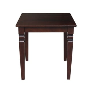 Rich Mocha Square End Table