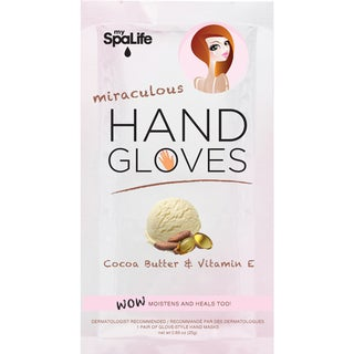 My Spa Life Cocoa Butter + Vitamin E Miraculous Moisturizing Hand Gloves (4 Treatments)