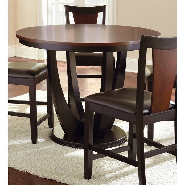 Greyson living olivia 2 tone medium cherry counter height for Greyson dining table