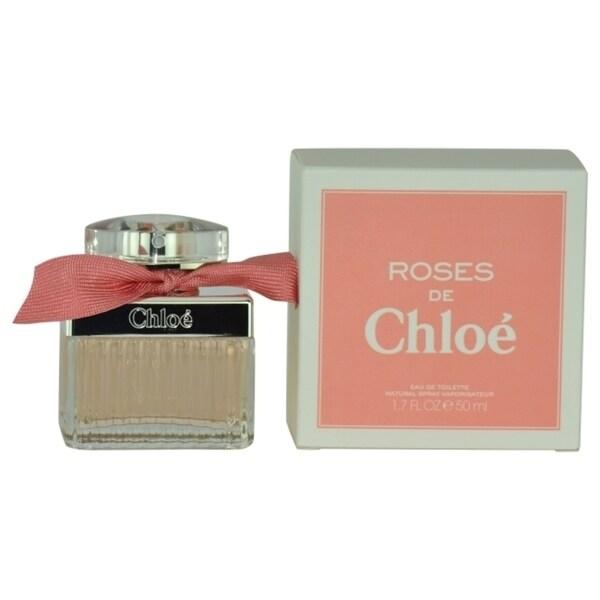 Chloe Roses de Chloe Women's 1.7-ounce Eau de Toilette Spray. Opens flyout.