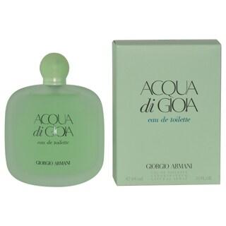 Giorgio Armani Acqua di Gioia Women's 3.4-ounce Eau de Toilette Spray