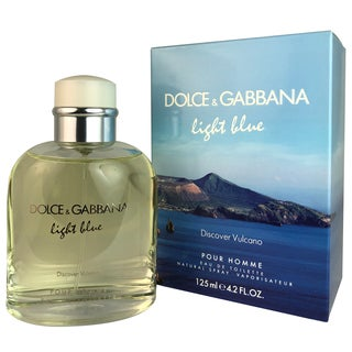 Dolce & Gabbana Light Blue Discover Vulcano Men's 4.2-ounce Eau de Toilette Spray