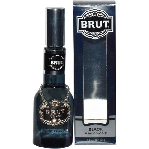 Faberge Co. Brut Men's Black 3-ounce Eau de Cologne Spray