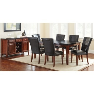 Greyson Living Bailey Granite Veneer and Medium Cherry Dining Set
