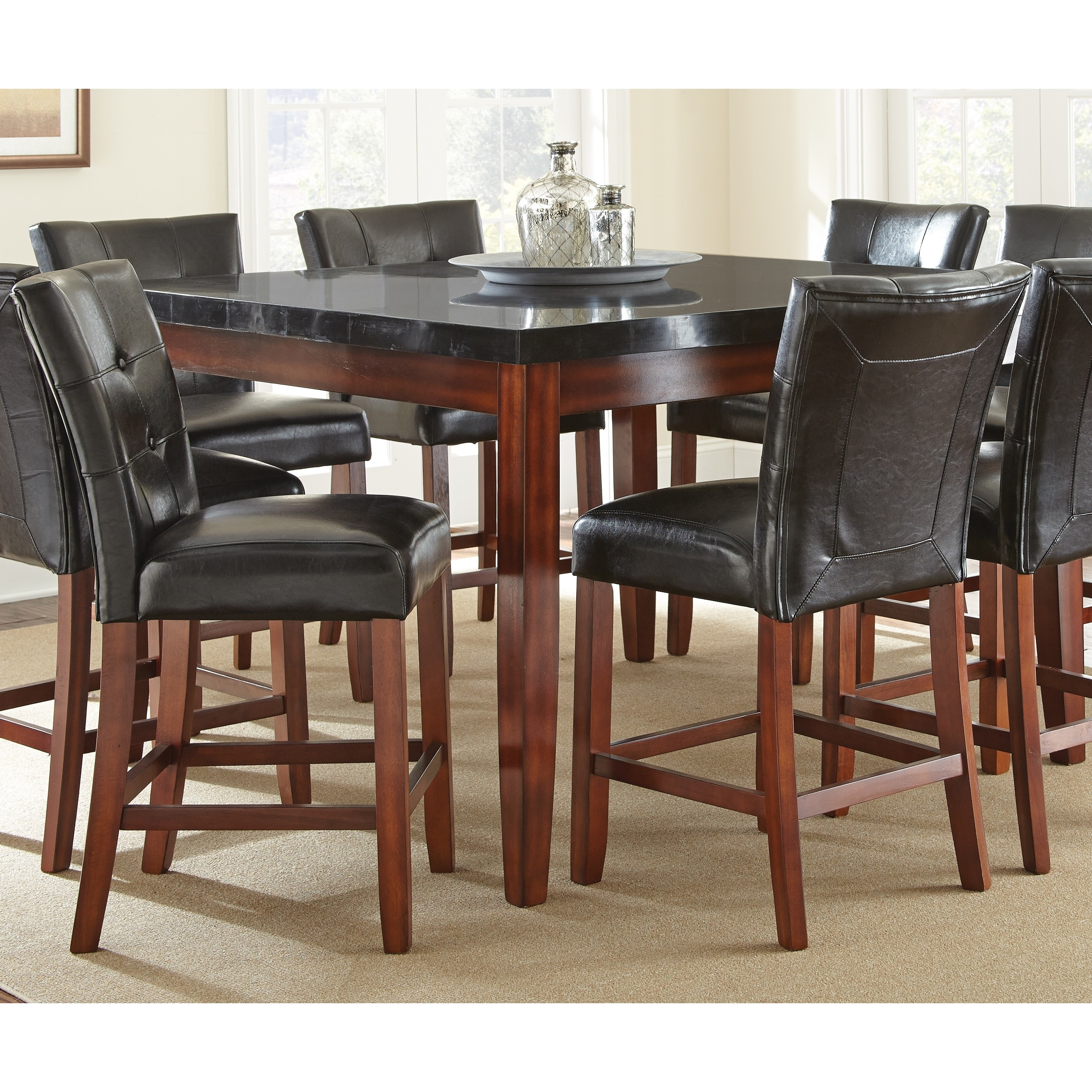 Bailey Granite-top Counter Height Dining Table by Greyson...