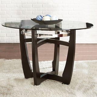 Greyson Living Monoco 48-inch Round Glass Top Table