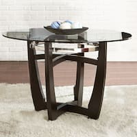 Oliver & James Holland 48-inch Glass Top Dining Table
