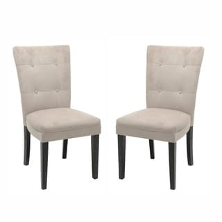 Greyson Living Monoco Microsuede Dining Chairs (Set of 2)