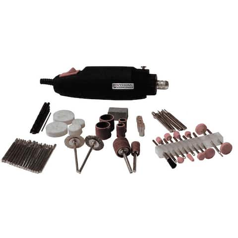 Professional Woodworker 80-piece Rotary Tool Kit