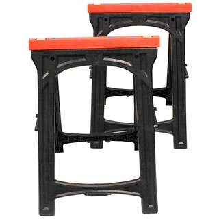 Professional Woodworker Pair of Folding Sawhorses