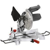 Professional Woodworker 8 1/4-inch Compound Miter Saw with Laser Guide - Silver