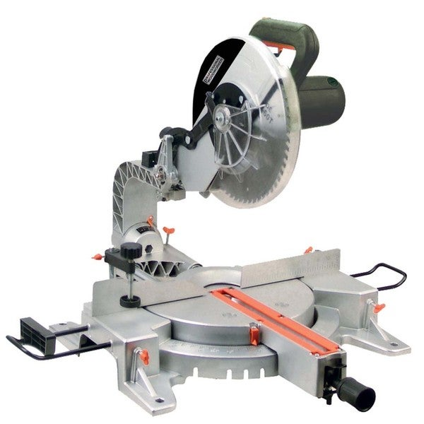 Shop Professional Woodworker Sliding Compound Miter Saw With Laser