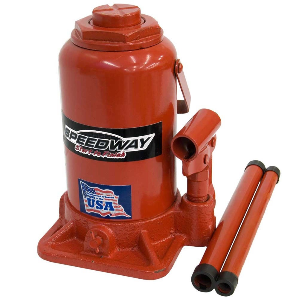 SpeedWay 20 Ton Bottle Jack (20 Ton), Red