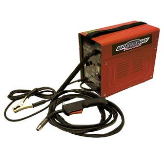 Speedway 90A Flux Welder - Red|https://ak1.ostkcdn.com/images/products/9396718/P16585578.jpg?impolicy=medium