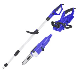 Blue Max Corded Telescoping Pole Saw and Portable Chainsaw