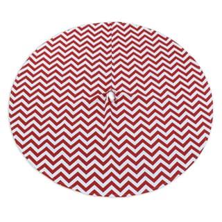 Zig Zag Lipstick 53-inch Round Tree Skirt