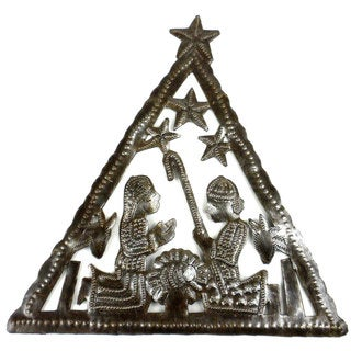 Triangle Nativity Wall Art (Haiti)