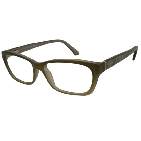 2eeb1595c06b Shop Fendi Readers Women s F1034 Rectangular Reading Glasses - Free ...