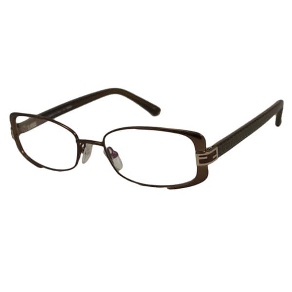 a93999af4016 Shop Fendi Readers Women s F944 Rectangular Reading Glasses - Free ...