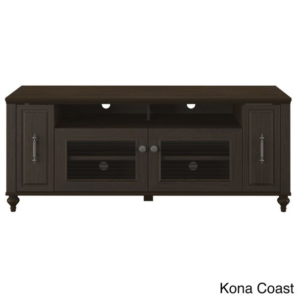 kathy ireland Office by Volcano Dusk TV Stand with Pull-out Media ...
