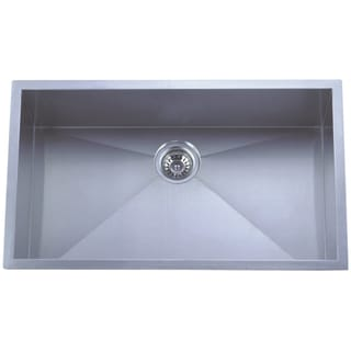 Undermount Single Bowl Stainless Steel Kitchen Sink