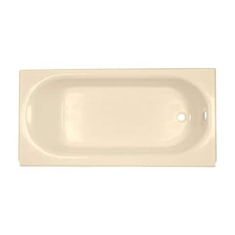 American Standard Princeton Bone 5-foot Right Drain Soaking Tub
