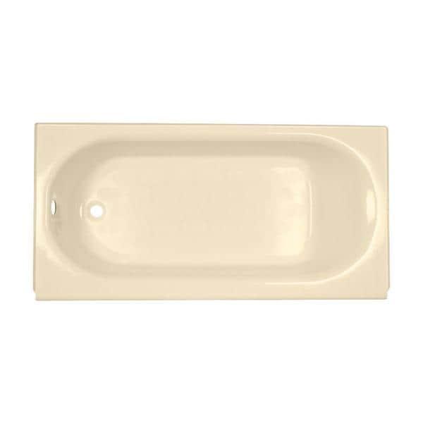 American Standard Princeton 5-ft Bone Left-hand Drain Soaking Tub ...