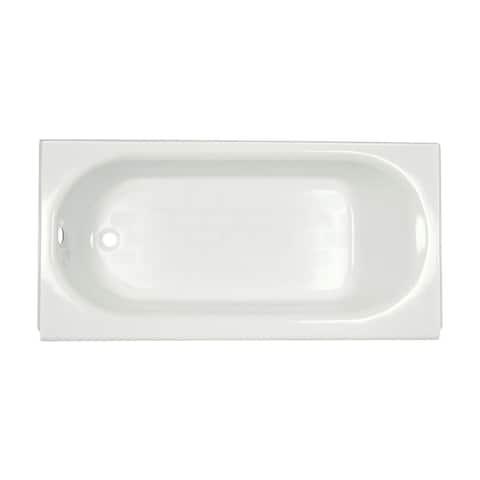 American Standard Princeton Americast Bathtub with Left-hand Drain 2392.202.020 White