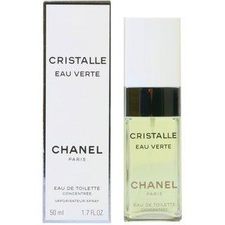 Chanel Cristalle Eau Verte Women's 1.7-ounce Eau de Toilette Concentree Spray